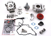 143cc Bore Kit, Race Head V2, and VM26mm Carb Kit